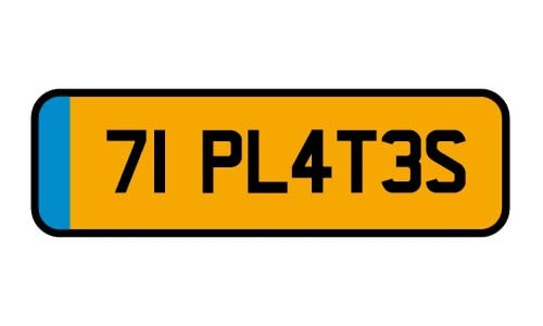 70 registration plate for September 2020