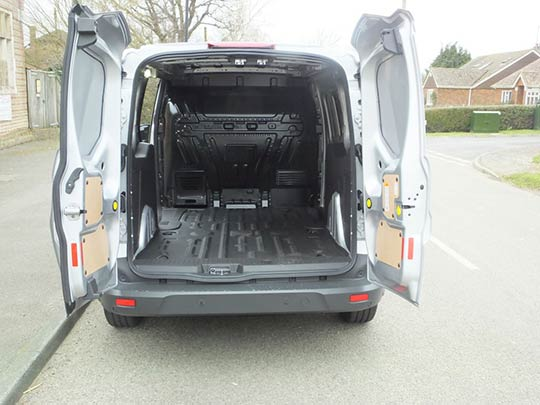 Ford Transit Connect Storage Space