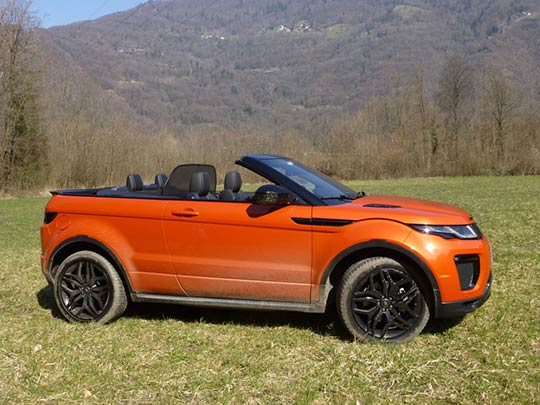 The new Range Rover convertible review shows the car has