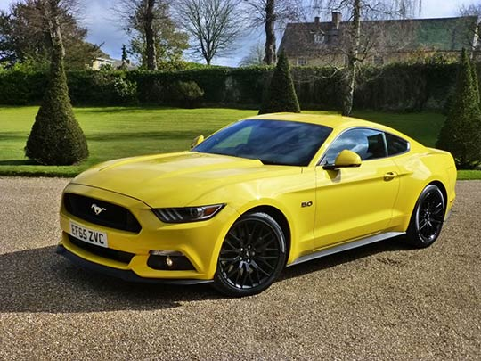 The new Ford Mustang UK