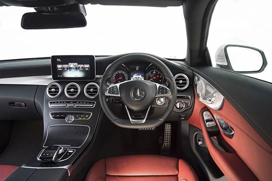 Mercedes C-Class Coupe Interior Review