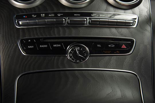 Mercedes C-Class Coupe Interior Features