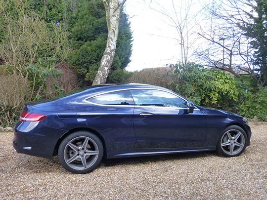 Mercedes C-Class Coupe Rear Review