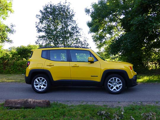 Jeep Renegade Side View