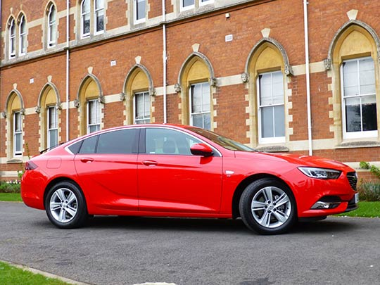 Motoring journalist, Sue Baker, reviews the new generation of the Vauxhall Insignia Grand Sport