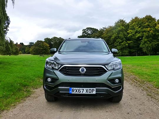 The new SsangYong Rexton offers all of the aesthetic of mainstream 4x4s