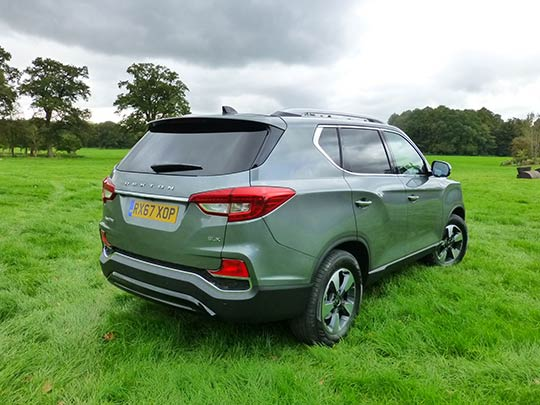 The SsangYong Rexton remains a bulky beast, but streamlined design makes it pretty enough!