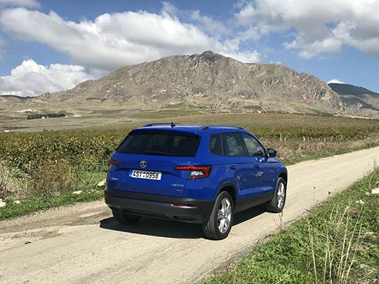 The new Skoda Karoq is a roomy, practical compact SUV with an extra 20 cm in length than its predecessor