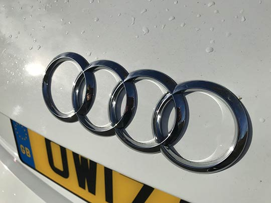 The Audi A1 is a customisable model with the contrasting roof colours being a popular choice