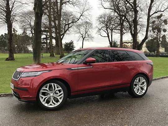 The new Range Rover Velar is still rare on the roads and is an eye-catching model that will stand out