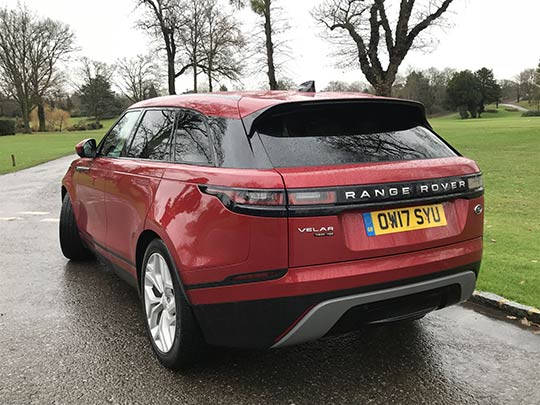 Sue Baker reviews the new addition to the Range Rover fleet, the Velar.