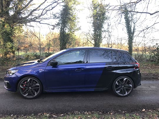 Sue Baker reviews the Peugeot 308 GTI and looks at how this sporty model stands out in the crowd.