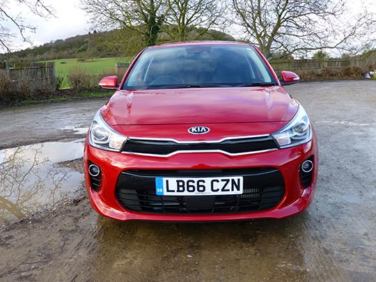 The Rio Kia is practical and spacious with plenty of boot space that has been increased to 325 litres