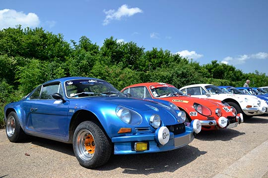 The Renault Alpine A110 was first released in 1955 and has been relaunched for 2018