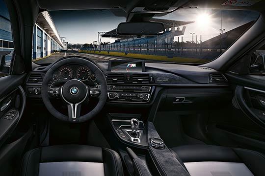 The new BMW M3 CS saloon is faster and more powerful than the original M3