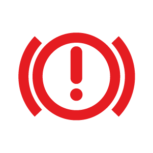 brake system warning light symbol